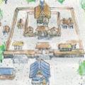 出雲大社イラストマップ (Discover Japan vol.29)