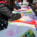 えかきうたワークショップ「ながーーい絵を描こう!」 2017年3月マリアル@宇都宮市「やさしい日曜日」
