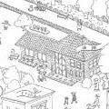プレゼン資料用イラスト「喜連川レイルパーク」