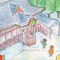 大前神社 こども向けのおまいりマップ
