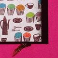 ブックカバー「カップケーキ」